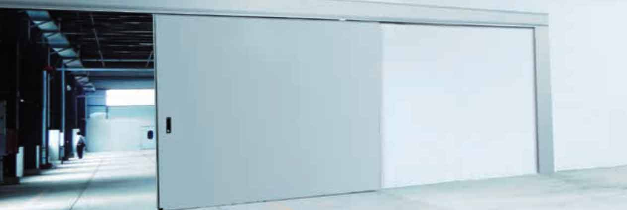 usa cu rezistenta la indendiu ulisanta (glisanta) pentru hale industriale, depozite sau fabrici