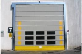 usa rapida cu geamuri RAL 7002 Gri speciala pentru exterior
