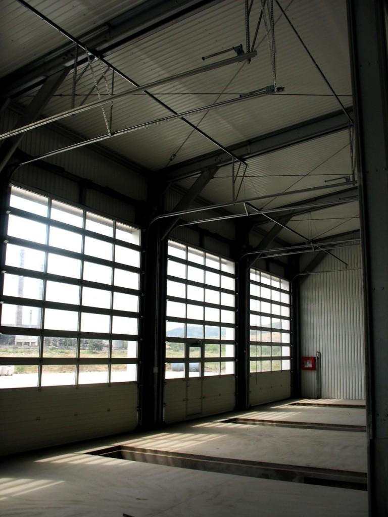 Usi industriale sectionale vitrate doorTECK