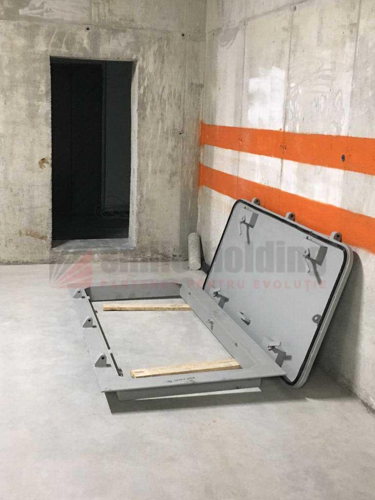 Usi ALA - usa metalica etansa pentru adapost - Smilo Holding