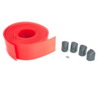WA2 - pachet 8 m cauciuc de protectie antisoc de culoare rosie, prevazut cu dopuri de inchidere pentru bara WA1