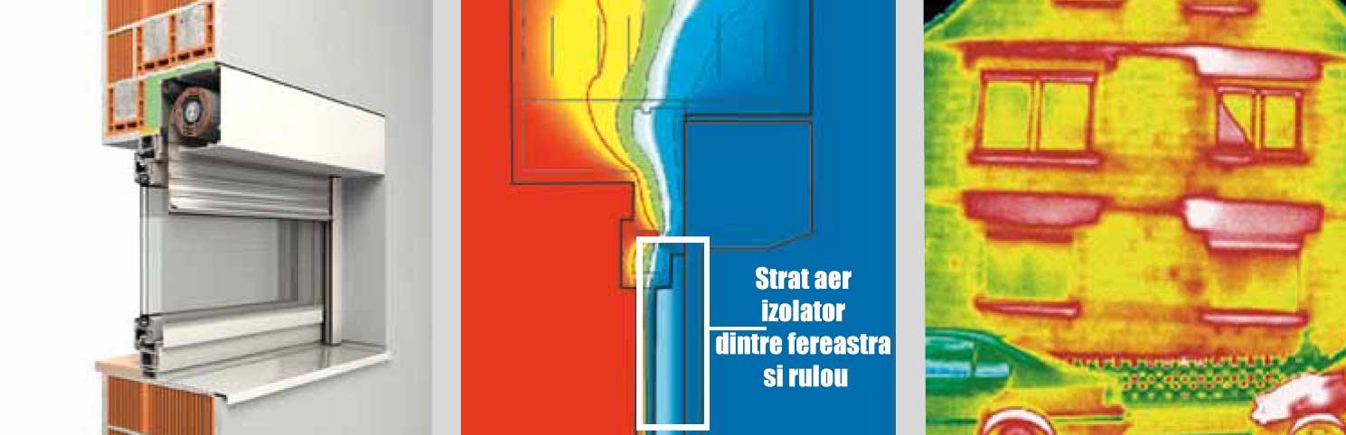 Rulouri exterioare din aluminiu - bariera termica eficienta